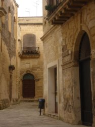 Alley in Lecce