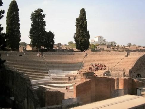 Amphitheatre, Pompeii