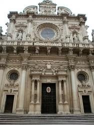 Architecture in Lecce