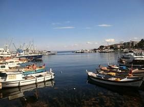 Boats docked at the Prince's Island Big Island