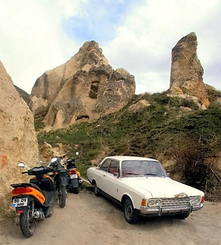 Cappadocia bike and car