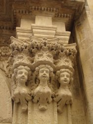 Details on buildings, Lecce