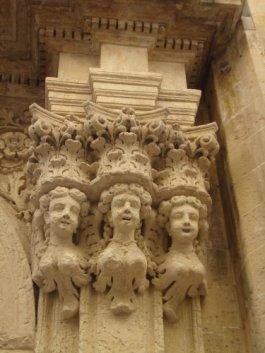 Details on buildings, Lecce