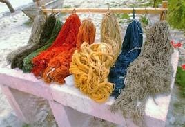 Drying wool, Cappadocia