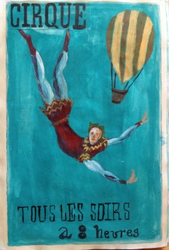 Imitation of late 18th century French poster
