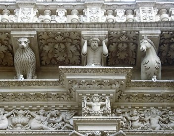Lecce Architectural details