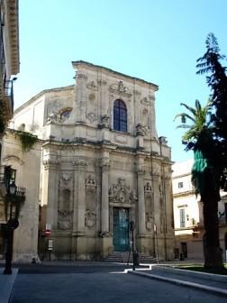Lecce town gate