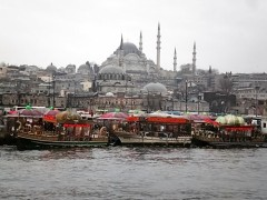 Mosques and boats, Istanbul
