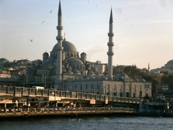 New Mosque and Galata Bridge, Istanbul