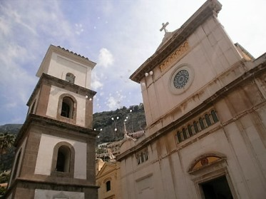 Church in Positano