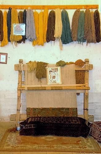 Rug weaving workshop, Cappadocia