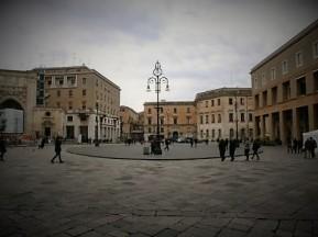 Square in Lecce