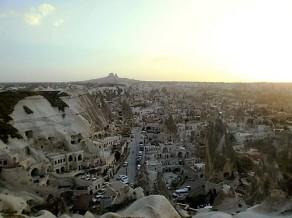 Sunset in Cappadocia