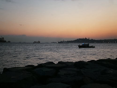 Sunset in Maltepe, Istanbul