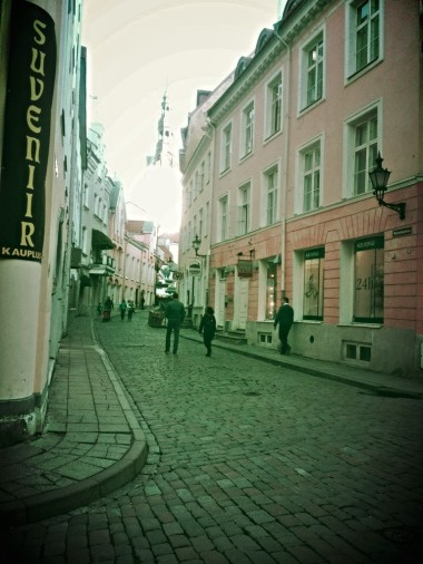 Tallin Streets, Old Town