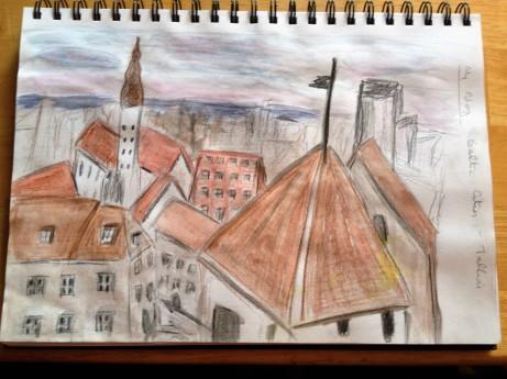 Tallinn rooftops