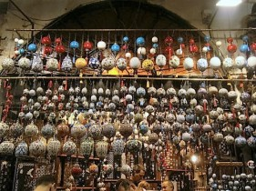 The colourful Grand Bazaar