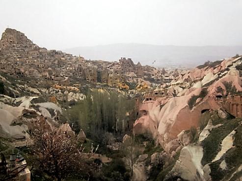 View of Cappadocia