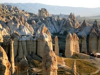 View over Cappadocia