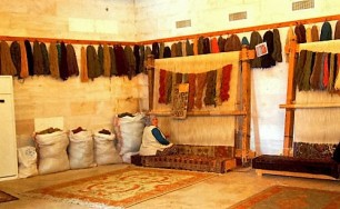 Weaving workshop in Cappadocia